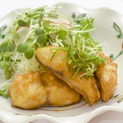 【水曜日】白身魚の油淋ソース